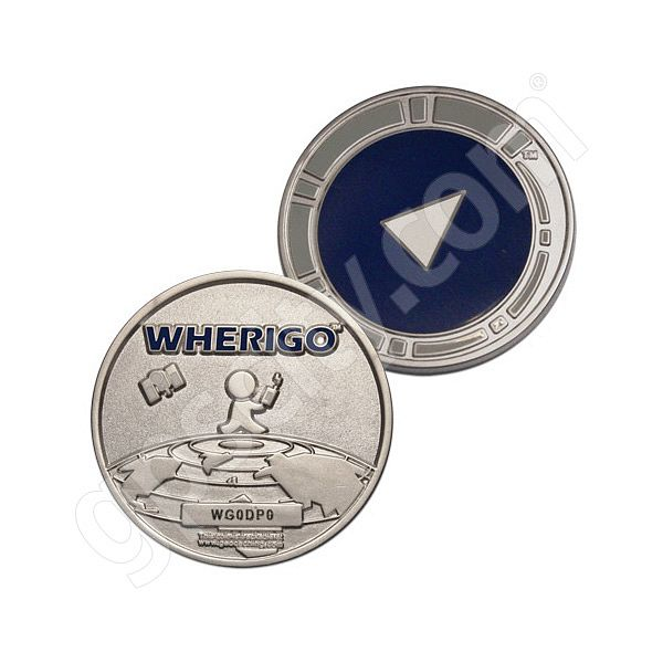 Geocaching Official WhereIGo Geocoin