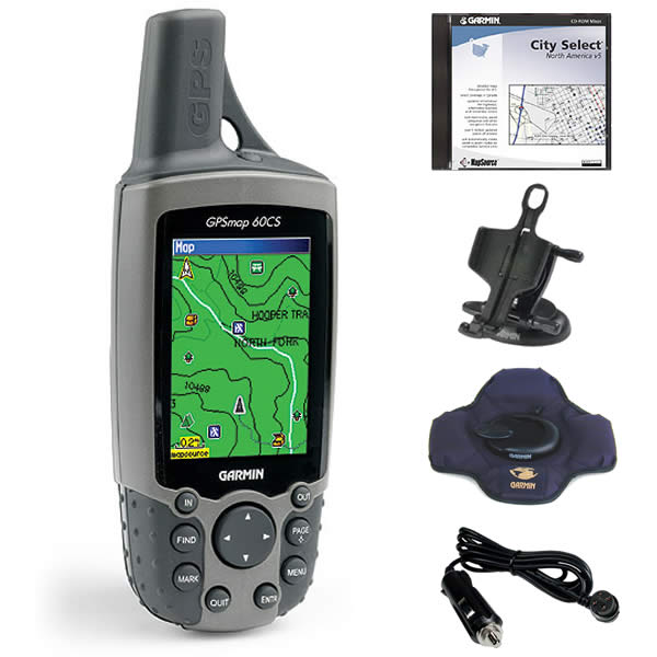 Garmin GPSMAP 60CS with Auto Kit