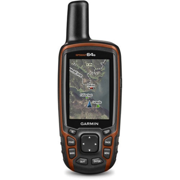 GPSMAP 64s with Sensors Handheld GPS and GLONASS