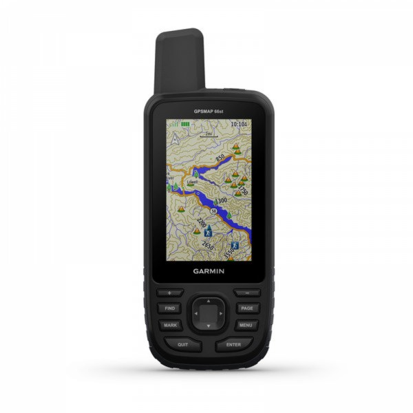 Garmin Gpsmap 66st With Topo Us And Canada Maps - Garmin-gps-with-us-and-canada-maps