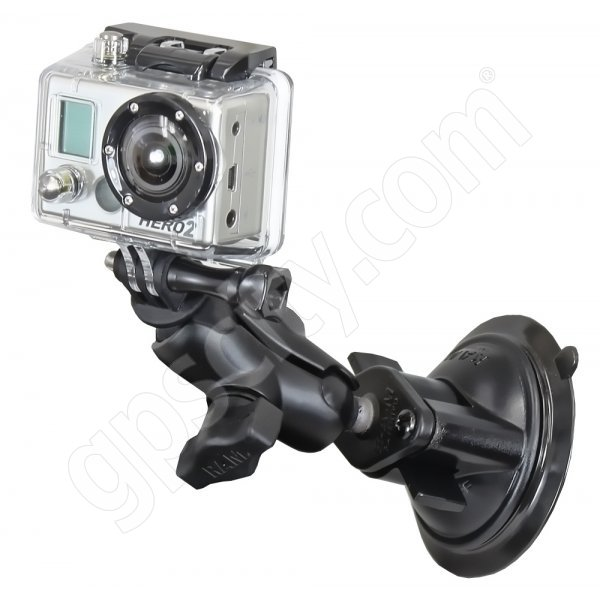 RAM Mount GoPro Suction Mount on Short Arm RAM-B-166-A-GOP1U