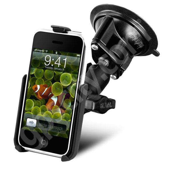 RAM Mount Apple iPhone Locking Suction Cup Mount