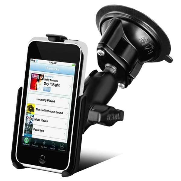 RAM Mount Apple iPod Touch G1 Locking Suction Cup Mount