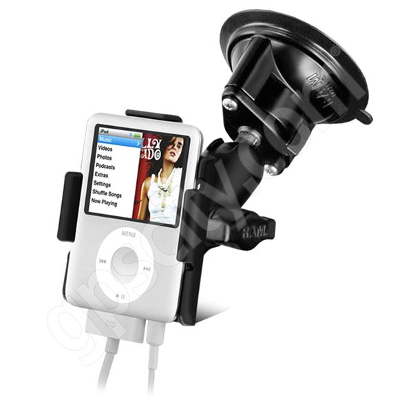 RAM Mount Apple iPod Nano G3 Locking Suction Cup Mount