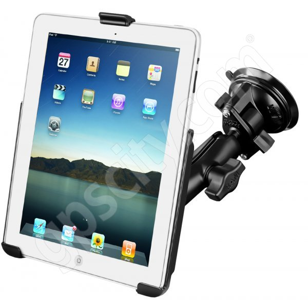 RAM Mount Apple iPad Suction Mount RAM-B-166-AP8U