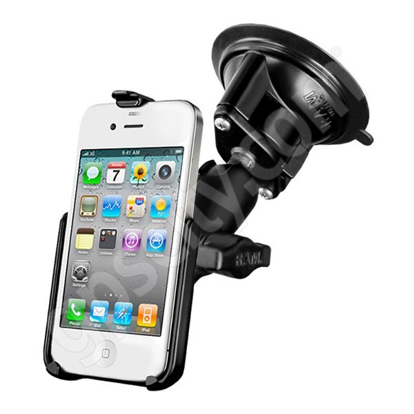 RAM Mount Apple iPhone 4 Suction Mount RAM-B-166-AP9U