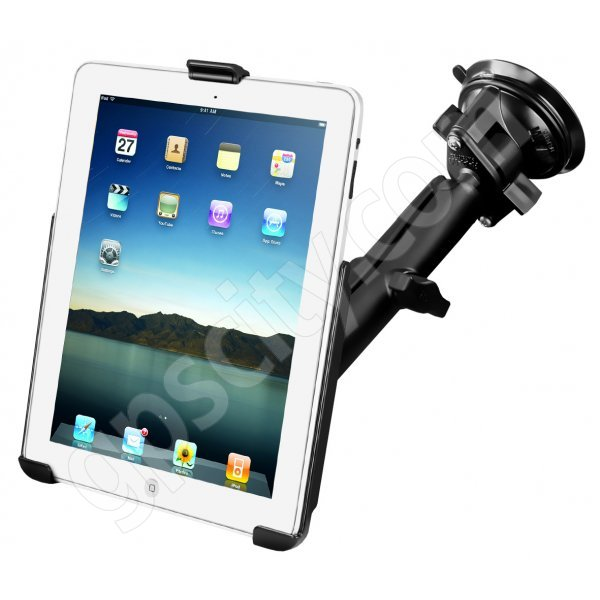 RAM Mount Apple iPad Long Arm Suction Mount RAM-B-166-C-AP8U