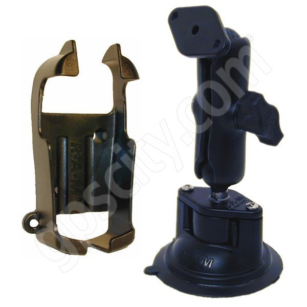 RAM Mount eTrex Series Mono Locking Suction Cup Mount Additional Photo #1