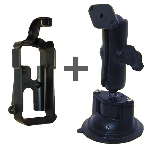 RAM Mount GPS 300 Series Locking Suction Cup Mount