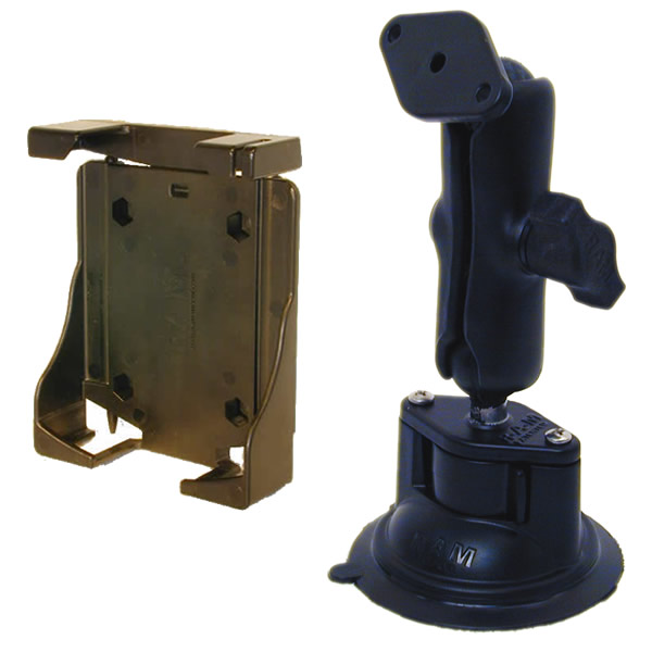 RAM Mount Universal Top Clamp PDA Locking Suction Cup Mount