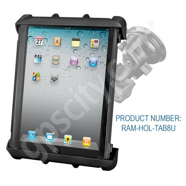 RAM Mount Tab-Tite Large Tablet Suction Cup Mount RAM-B-166-TAB8U Additional Photo #1