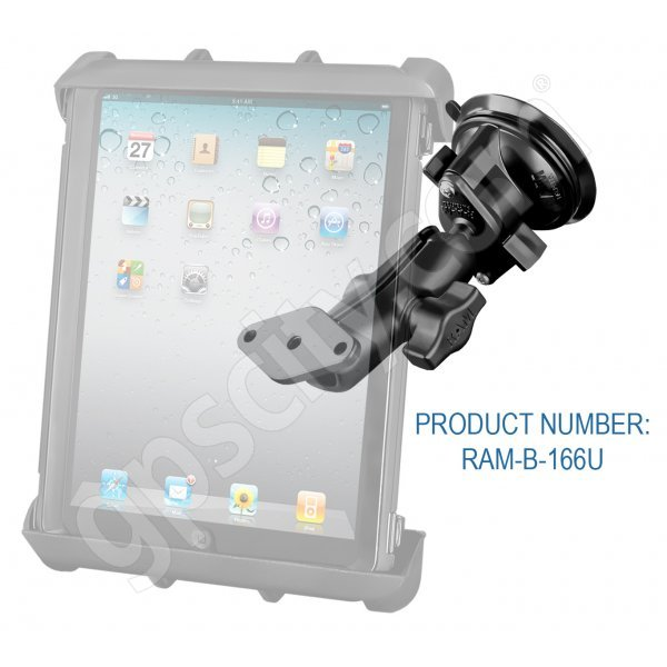 RAM Mount Tab-Tite Large Tablet Suction Cup Mount RAM-B-166-TAB8U Additional Photo #2