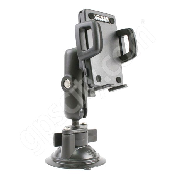 RAM Mount Universal Large Cradle Locking Suction Cup Mount