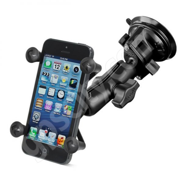 RAM Mount X-Grip Suction Cup Mount for Phones
