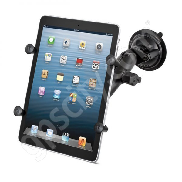 RAM Mount X-Grip II Suction Cup Mount for Small Tablets