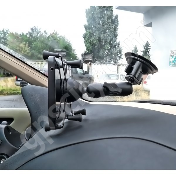 RAM Mount Universal X-Grip II Tablet Cradle Locking Suction Cup Mount RAM-B-166-UN8U Additional Photo #1