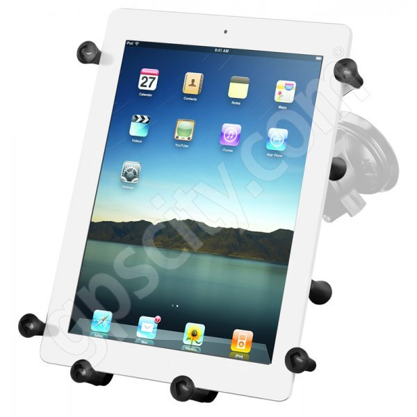RAM Mount Universal X-Grip III iPad Tablet Locking Suction Cup Mount RAM-B-166-UN9U Additional Photo #1