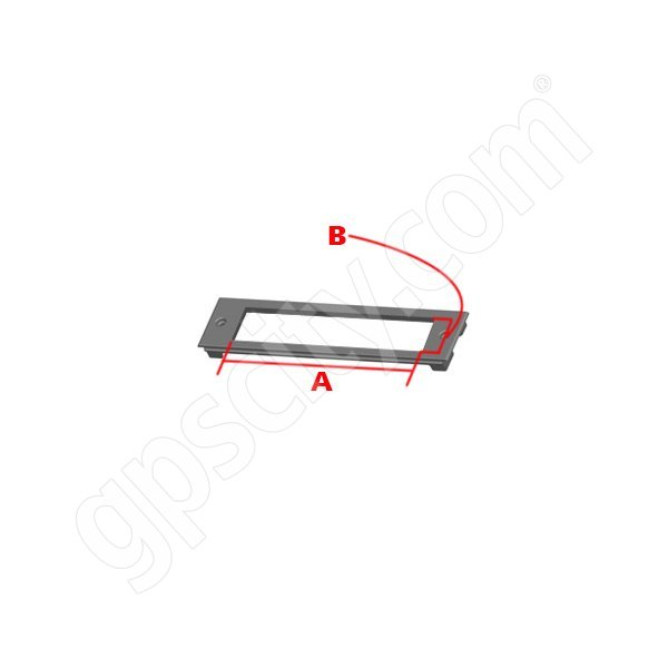 RAM Mount B28 RAM Custom Faceplate for Console RAM-FP2-6560-1280
