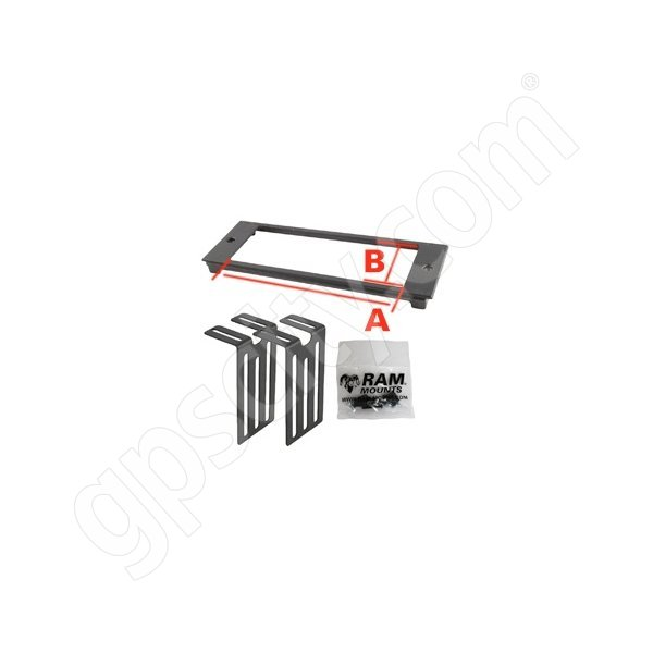 RAM Mount A44 RAM Custom Faceplate for Console RAM-FP3-7250-2500