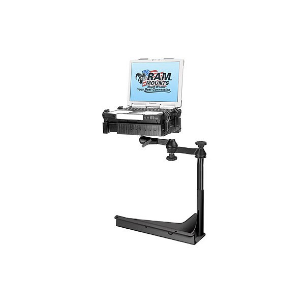 RAM Mount Semi Truck with Sears Seating Atlas Series Chair Laptop Mount