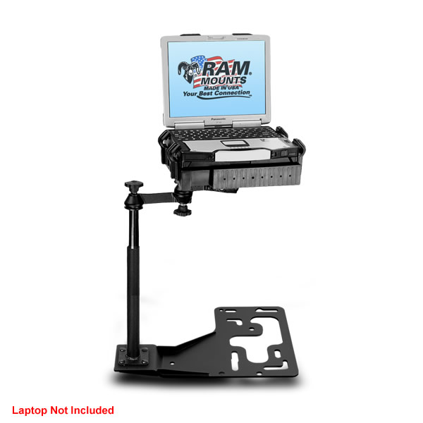 RAM Mount Big Rig Semi Trucks Dual Arm Laptop Vehicle Mount