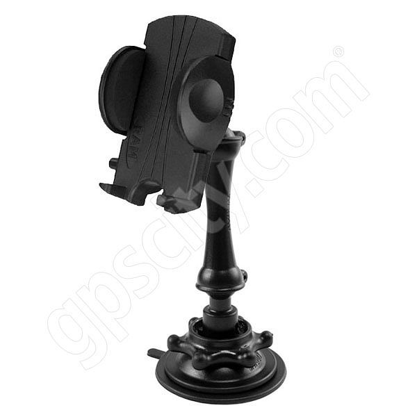 RAM Mount Plastic Small Universal Cradle Snap Link Suction Mount