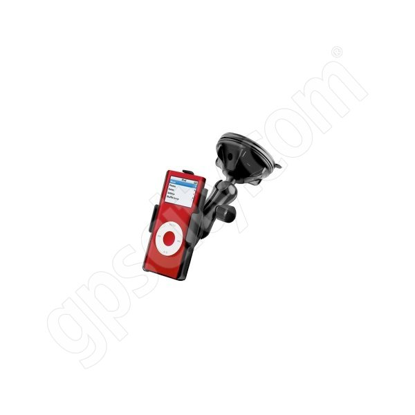 RAM Mount Apple iPod Nano G1 G2 Suction Mount Lite RAP-B-166-2-AP2U