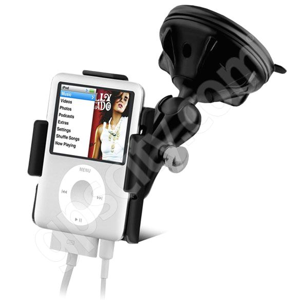 RAM Mount Apple iPod Nano G3 Grip-Lock Suction Cup Mount