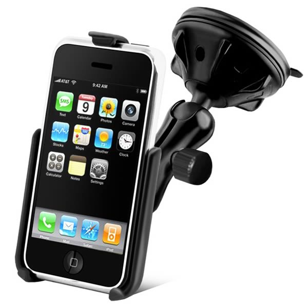 RAM Mount iPhone 3G 3GS Suction Mount Lite RAP-B-166-2-AP6U