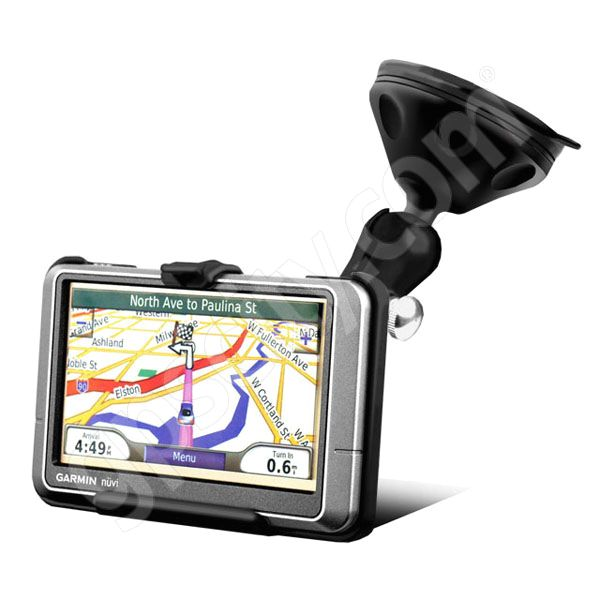 RAM Mount Garmin nuvi 2xxW and nuvi 465T Grip-Lock Suction Cup Mount