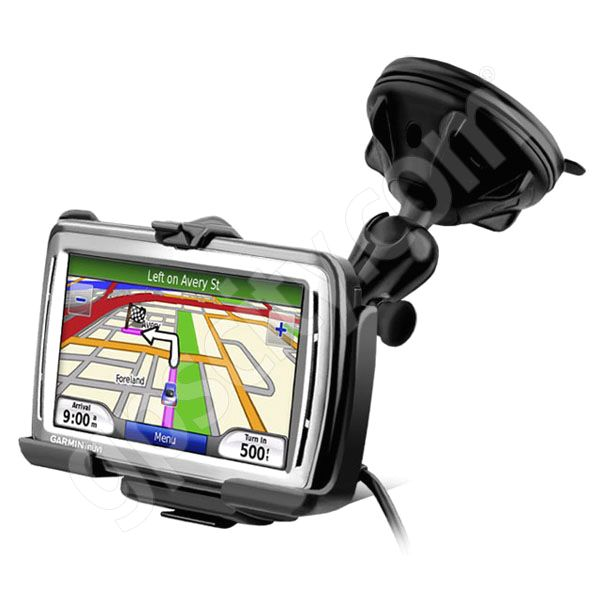 RAM Mount Garmin nuvi 8xx Series Grip-Lock Suction Cup Mount
