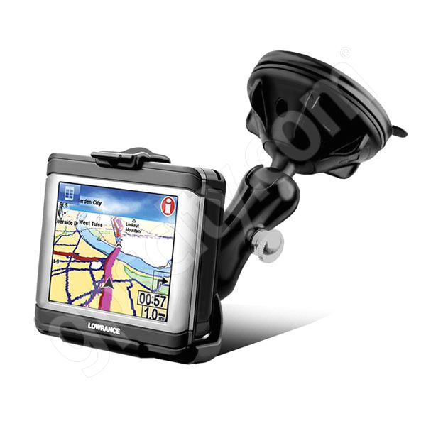RAM Mount Lowrance XOG Series Grip-Lock Suction Mount