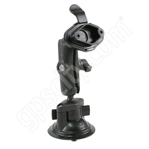 RAM Mount Locking Suction Diamond Mount with Ezy Adapter