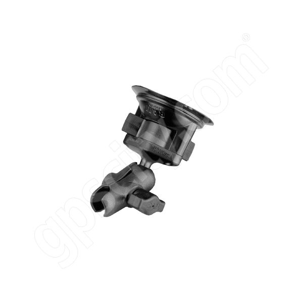 RAM Mount Plastic Short Arm on Suction Cup Base