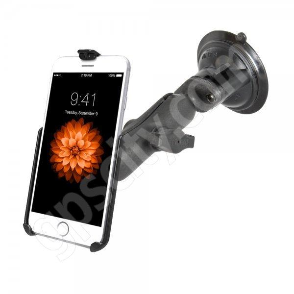 premium selection d49e2 b89e1 Plastic Apple iPhone 6 Locking Suction Mount