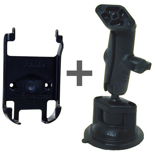 RAM Mount Plastic Compaq iPaq 1900 and 4100 Suction Cup Mount