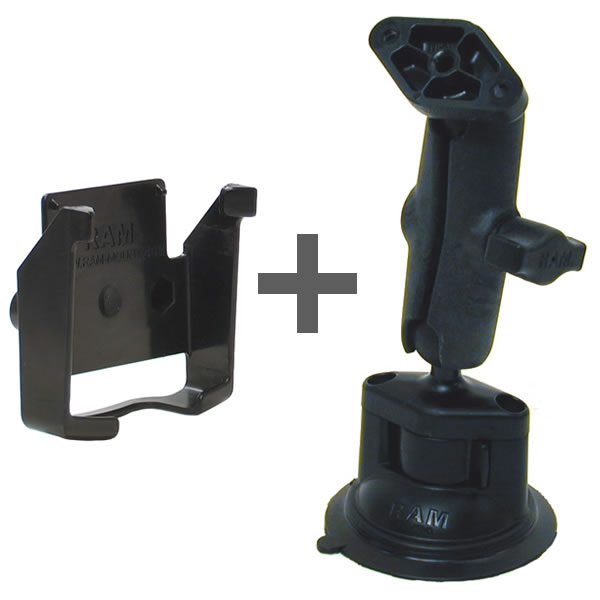 RAM Mount Plastic iQue 3600 Locking Suction Cup Mount