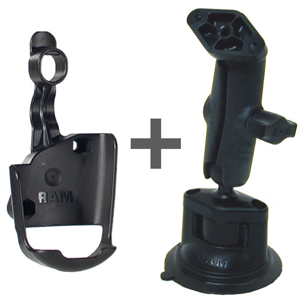 RAM Mount Plastic GPSMAP 60C Series Locking Suction Mount