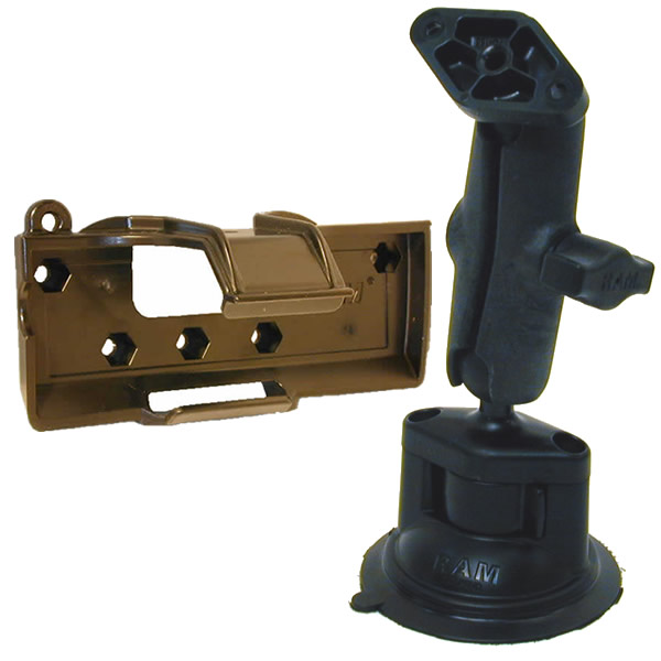 RAM Mount Plastic GPS V Locking Suction Cup Mount