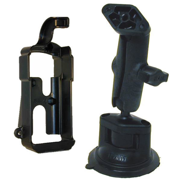 RAM Mount Plastic GPS 300 12 Blazer Locking Suction Cup Mount