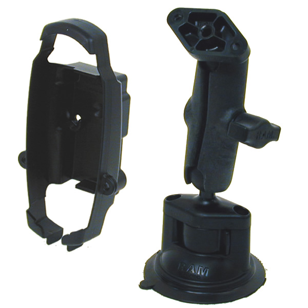 RAM Mount Plastic SporTrak Series Locking Suction Cup Mount