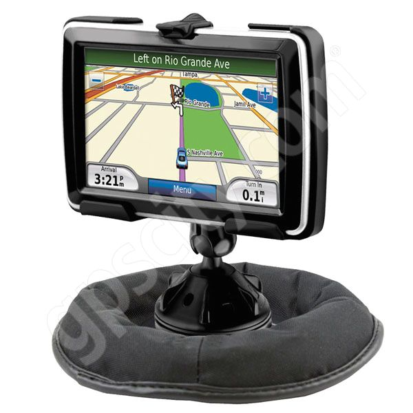 RAM Mount Garmin nuvi 5000 Grip-Lock Suction Cup Non Skid Mount