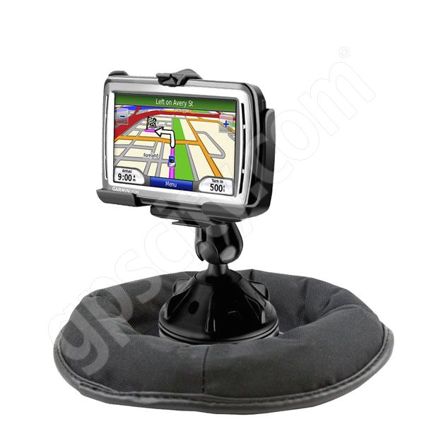 RAM Mount Garmin nuvi 8xx Grip-Lock Suction Cup Non Skid Mount