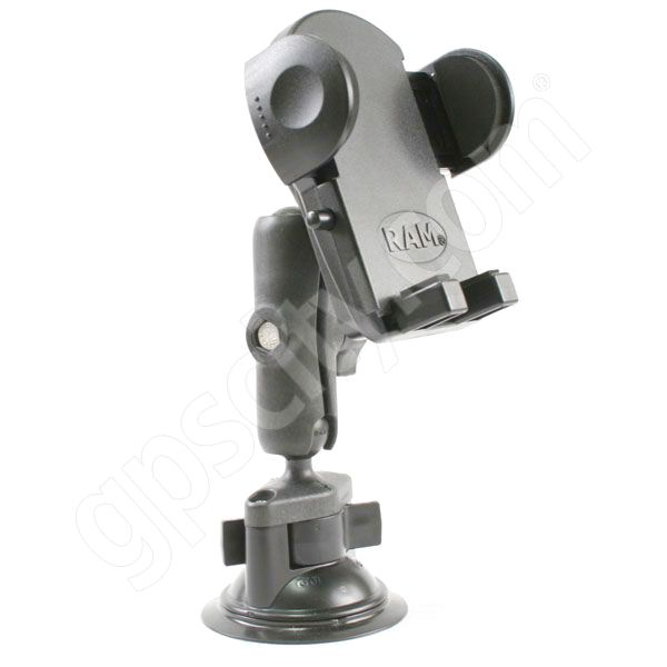 RAM Mount Plastic Universal Medium Cradle Suction Cup Mount