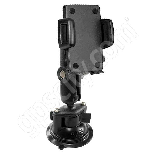 RAM Mount Plastic Universal Large Cradle Suction Cup Mount