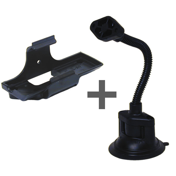 RAM Mount Garmin GPS V Gooseneck Suction Mount RAP-105-6224-GA2U