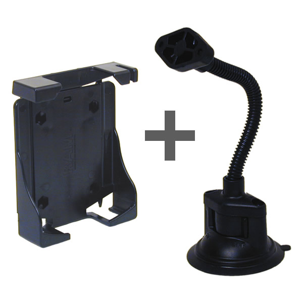 RAM Mount Universal PDA Suction Mount Gooseneck RAP-105-6224-PD1U