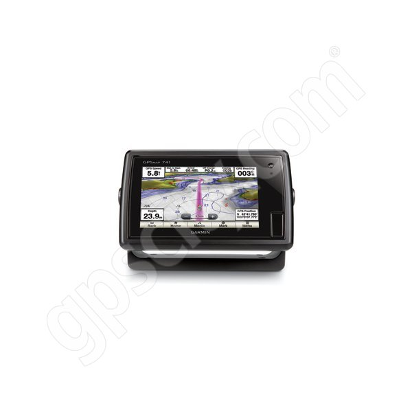 Garmin GPSMAP 741 with Preloaded U.S. Lakes and U.S. BlueChart g2