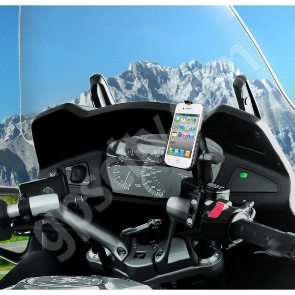 RAM Mount Apple iPhone 4 Motorcycle Mount Kit RAM-B-174-AP9U Additional Photo #1