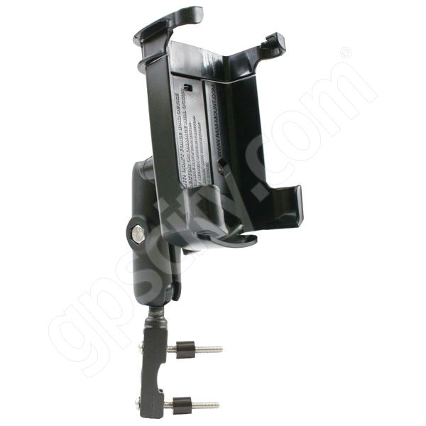 RAM Mount Compaq iPaq 3xxx 5xxx Series on Motorcycle Brake Mount
